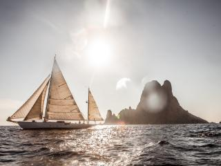 Gladoris II Classic Sailing Yacht Vieux Port, Cannes