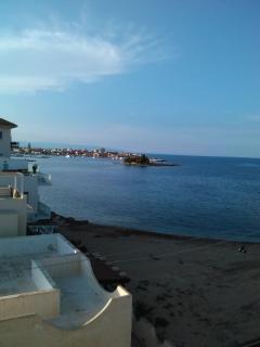 Panorama terrazzo e spiaggia
