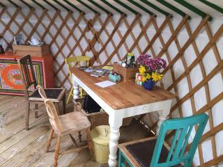 Yurt Experience, Isle of Gigha