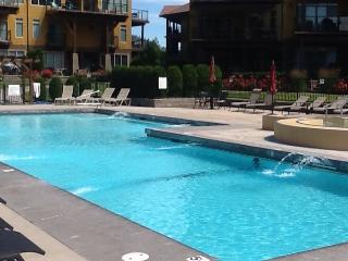 Luxurious, fully furnished, top floor condo, Kelowna