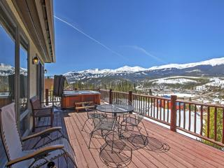 'Belle Vue Chalet' 3BR Breckenridge Home w/Hot Tub