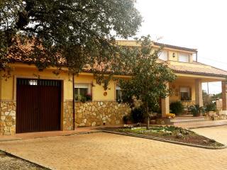 Finca el Carmen: 2 habitaciones dobles, San Roman de los Montes
