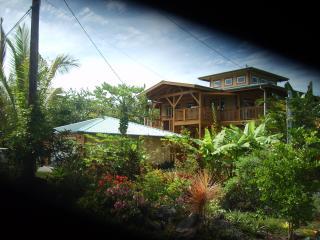 Kahonua Hale now offers downstairs as a rental, Pahoa