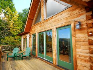 Mountain Home with Views near Asheville, Sleeps 10