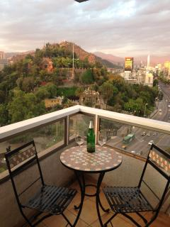 There´s no better place to enjoy a refreshment & the view