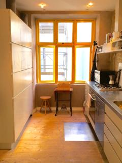 Kitchen with all EU facilities.