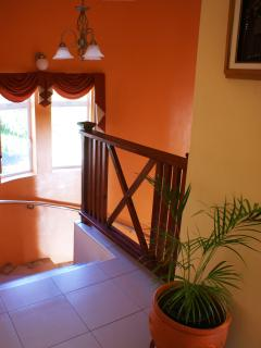 Stairwell leading to the Private Room.