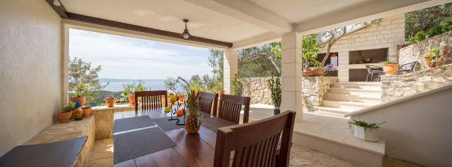 New house 'Villa Amare' 2016 with perfect sea view, Makarska