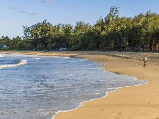 Fish, jog or surf on Anahola Bay