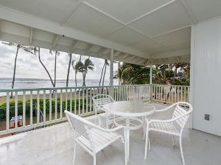 Kapa'a by the Sea Beachfront Home in the heart of Kapa'a Town, AC, Views!, Kapaa