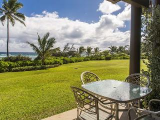 Kaha Lani #121, Oceanfront, Steps to Beach, Sunrise Views from Private Lanai, Lihue
