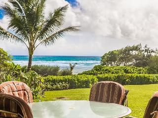 Kaha Lani Resort #119, Oceanfront, Steps to Beach, Free Wifi and Parking