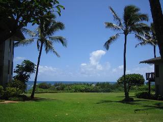 Kaha Lani #115, Ocean View, Ground Floor, Steps to Beach, 10% OFF DEC STAYS!, Lihue