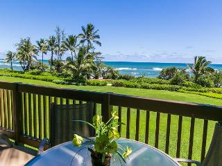 Kaha Lani Resort #218, Oceanfront, Steps to Beach & Coastal Path, Top Floor, Lihue
