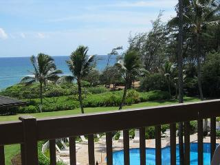 Kaha Lani 311, Great Ocean & Sunrise Views, Steps to Sandy Beach, Near Town, Lihue