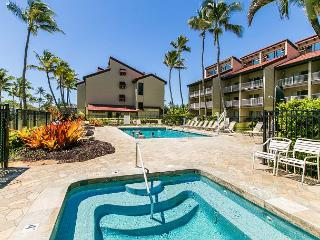 Kapaa Shore Resort #227, Oceanfront, End Unit, with Washer & Dryer!