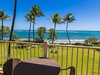 Kapaa Shore Resort #202, Oceanfront near beaches, shops, restaurants and more