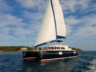 Sails Up Yacht Charters BVI crewed, West End