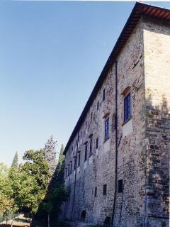 Castello di Mugnana, facciata ovest