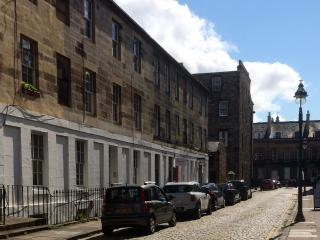 Newly refurbished apartment in cobbled street., Edinburgh