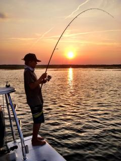 Spend the day fishing! See what you can catch!
