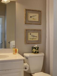 Bathroom that goes with the 3rd guest bedroom