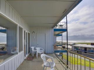 Dog-friendly, ocean-view condo near the beach w/shared pool
