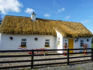 FITZPATRICKS COTTAGE, detached, thatched cottage, en-suite, solid fuel stove, dog-friendly, in Clough, Abbeyleix, Ref 929821