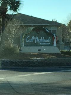 Gulf Highlands Beach Resort 152 Abbie Lane lies within these gates