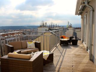Luxurious penthouse (135 m²) with panoramic views, Viena