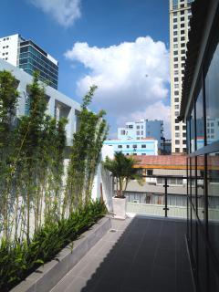 VIP room private balcony