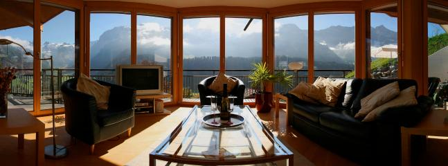Apartment A  Sitting Area with wonderful views surrounding you