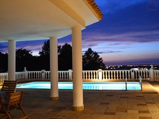 San Pere 200361 villa with sea view with private pool, close to beach and golf
