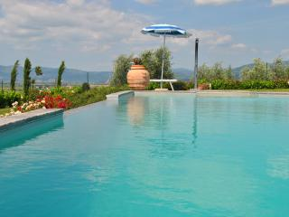 Big apartment in Tuscany with pool and wifi, Creti
