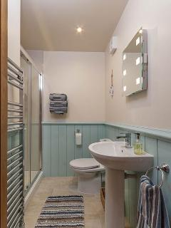 ensuite with large walk in shower
