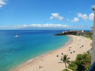Finest 1 BR Views on Kaanapali – Unrivaled 11th Floor Oceanfront Corner, Lahaina