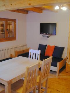 Living Room: Apartment Enna (accommodates 4-6)