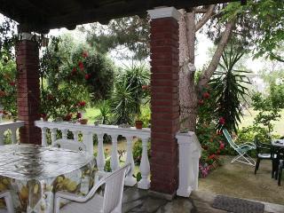 Secluded Seaside Villa 4-6 P  10min walk to beach, Halikounas