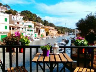 Fischerhaus direkt im Hafen, Cala Figuera