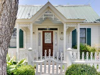 Victorian home w/ a porch & lawn, in the historic district!