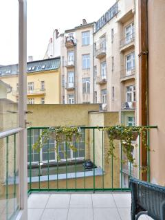 Balcony/ smoking area