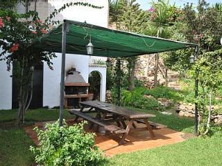Barbacoa comunitaria jardin