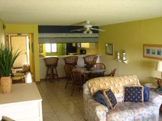 New Beachfront Ground Floor Condo @ Top Resort!, Cocoa Beach