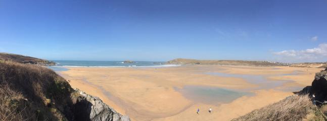 Nearby Crantock Beach and Sand dunes. Newquay has so much to offer.