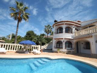 Rondel - sea view villa with private pool in Costa Blanca, La Llobella