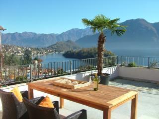 appartement avec magnifique vue sur le Lac de Côme