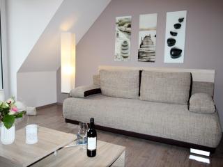 Lagunenstadt am Haff - 1-Zimmer-FeWo Wasserseite, Ueckermunde