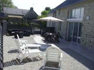 Gîte spacieux, adapté aux personnes handicapées, Hauteville-sur-Mer