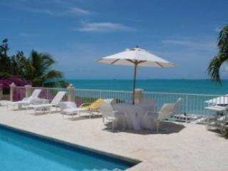 Charming 2 Bedroom Oceanfront Villa with Pool on Chalk Sound, Providenciales