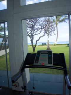 Fitness center available on property.  Exercise while enjoying a beautiful view!